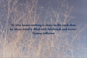 INTJ Insight provided by a quote from Thomas Jefferson.